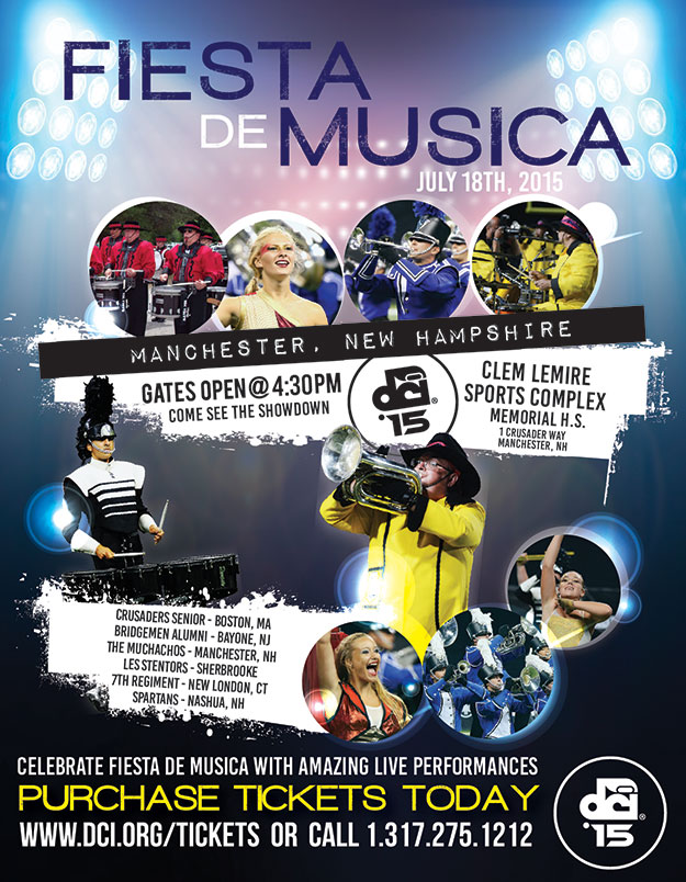 Fiesta de Musica Drum and Bugle Corps Show July 18, 2015