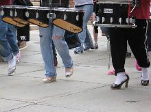 Muchachos Drumline - Walk a Mile in Her Shoes